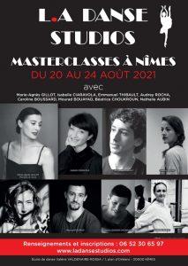 Masterclass danse nimes du 20 au 24 août 2021